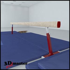 3D balance beam