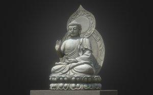 3D model 8k bodhisattva gautama buddha