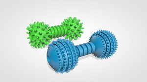 3D pet toys model