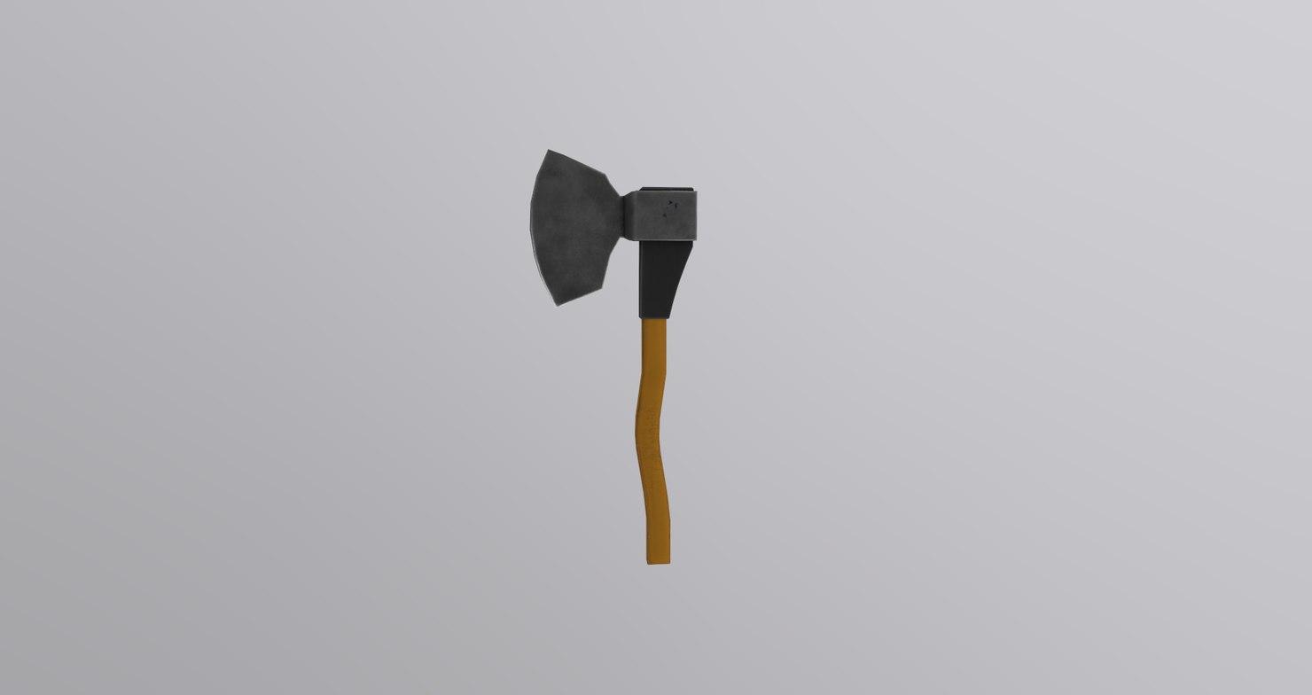 3D ax