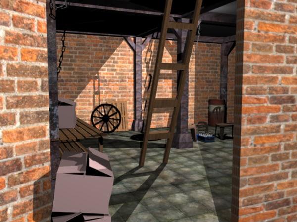 props environment 3D model