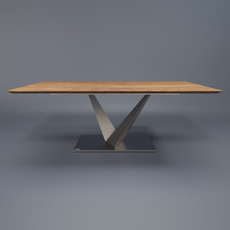 ... Miotto Selections Orsini Dining Table 3D Model ...