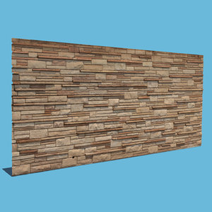 3D new brick wall model