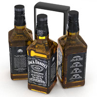 Jack Daniels Bourbon Whiskey 700ml Bottle
