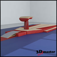 gymnastics vaulting table model