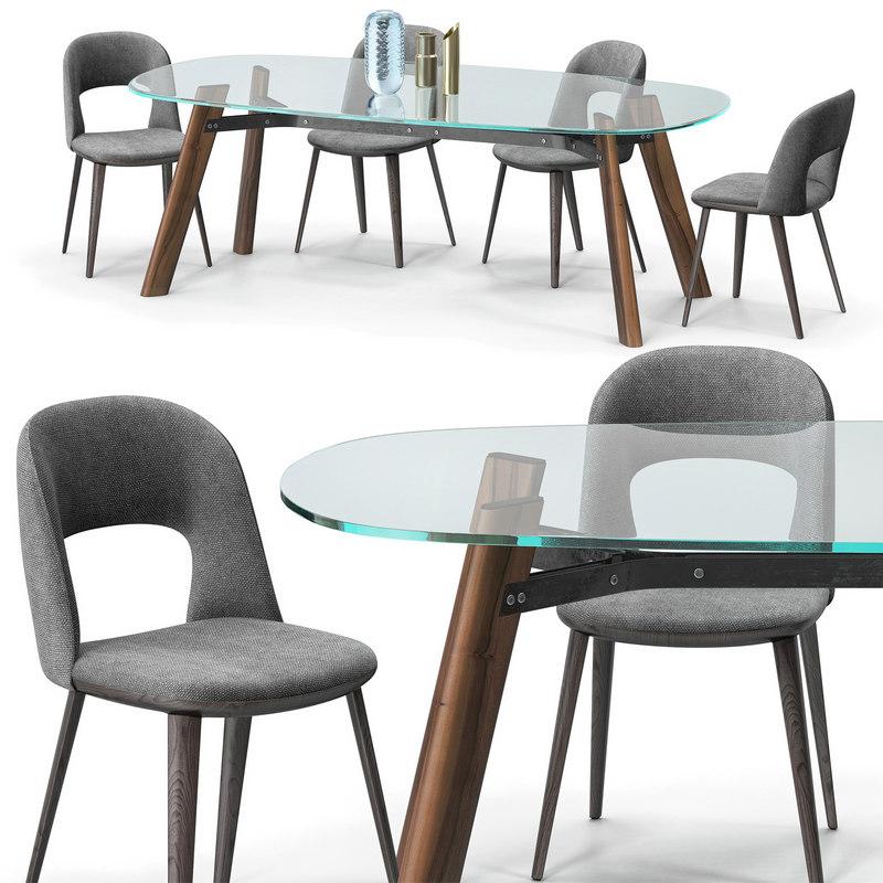 broos path chair beleos 3D model