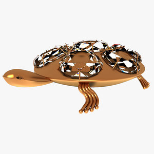 3D turtle diamond