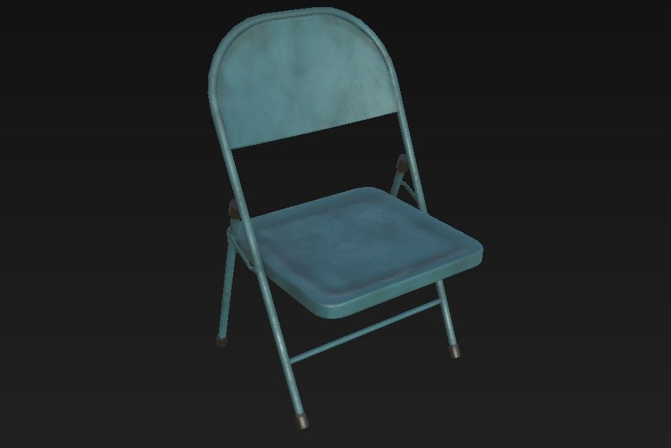 3D chair gaming model