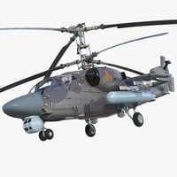 Attack Helicopter KA52 Black Shark Hokum A