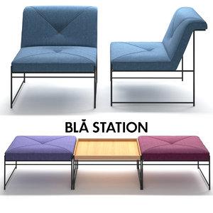 bla station unit 3D model