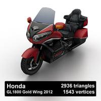 Honda GL1800 Gold Wing 2012