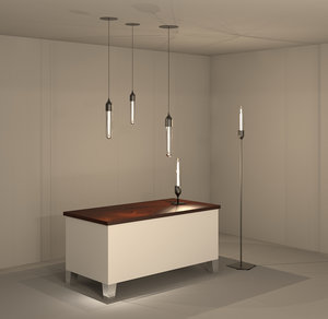 3D model revit lighting