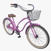 3D model electra cruiser bike