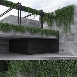 3D climbing plants