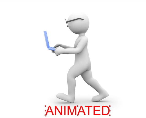 character computer 3D model