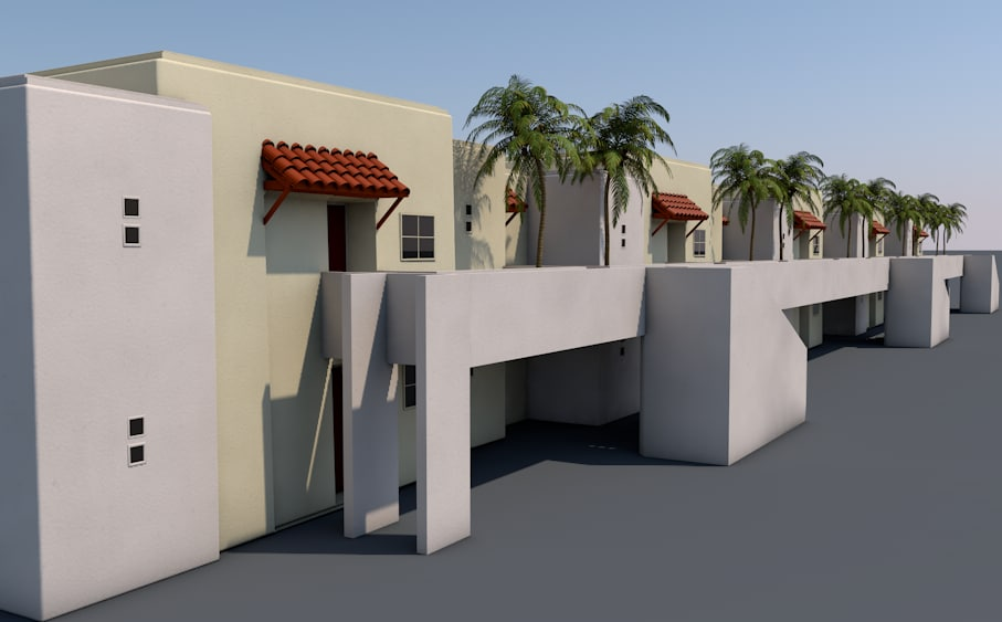 apartments home house 3D