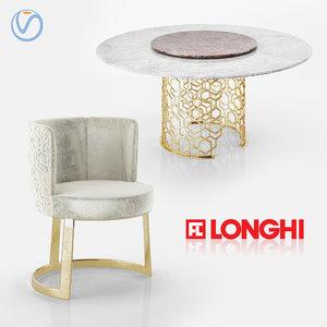 3D chair table cloe manfred