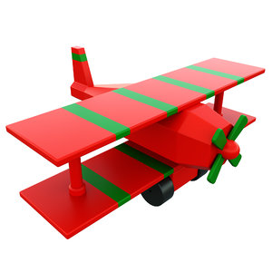 airplane toy 3D model
