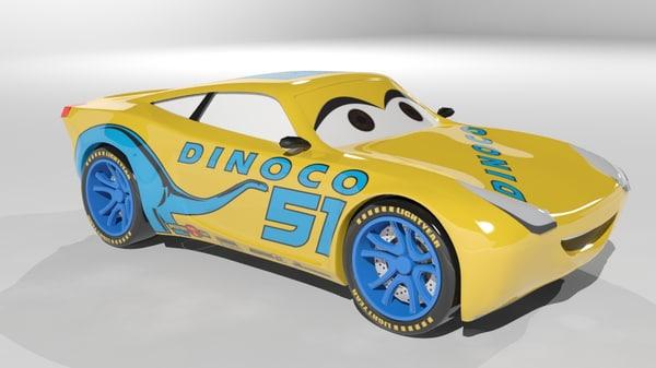cruz ramirez cars 3 3D