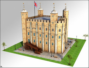 london tower 3D model