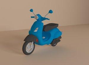 vespa motor cycle scooter model