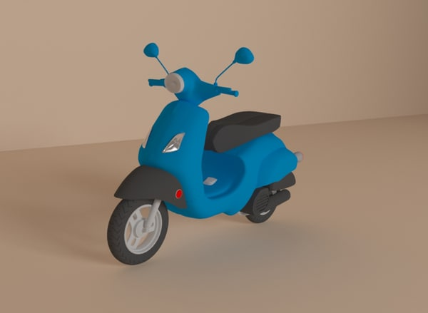 vespa motor cycle scooter model