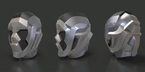 robotic head 3D