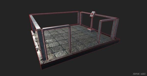 3D realistic elevator