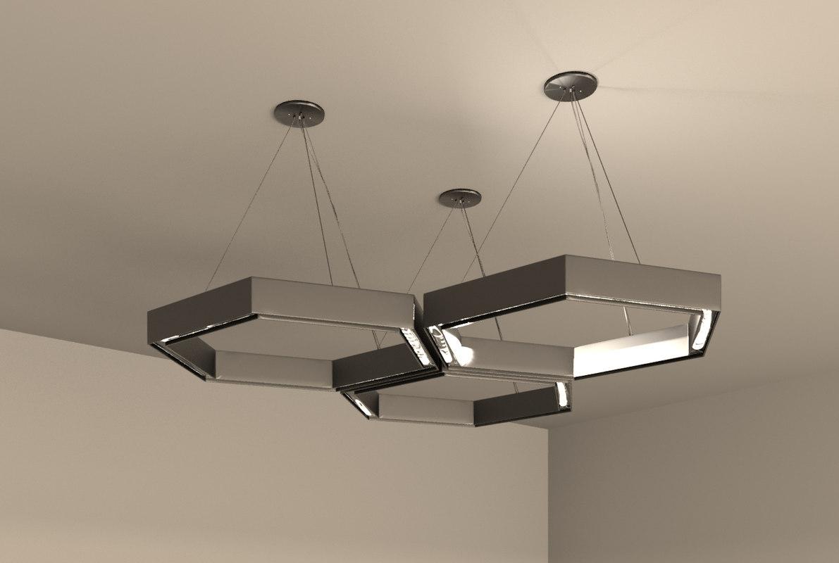 revit lighting 3D model
