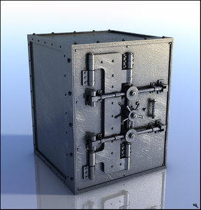 box safe 3D model