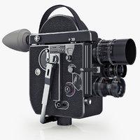 Vintage film camera Paillard Bolex 16 mm