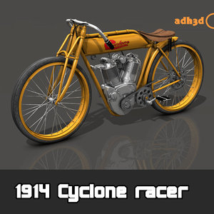 3D 1914 cyclone racer