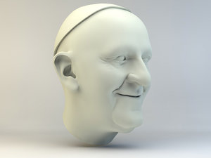 pope francis 3D