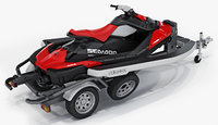 SEA-DOO Spark on Trailer