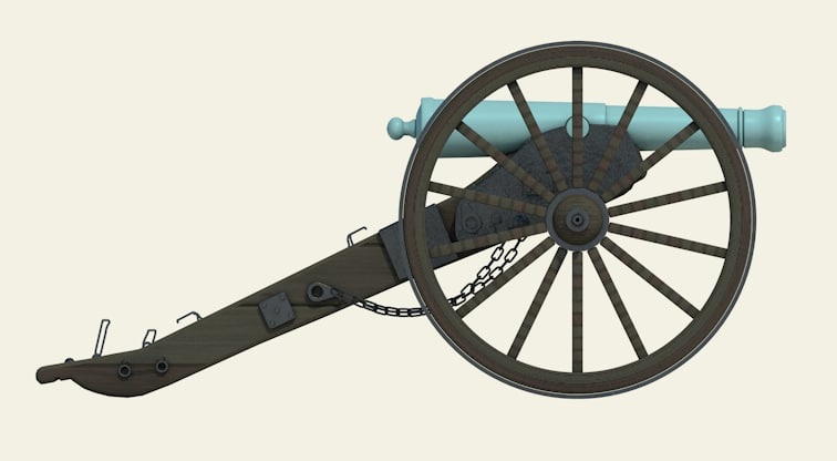cannon civil war model