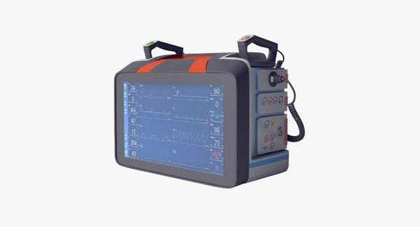 critical care unit 3D model
