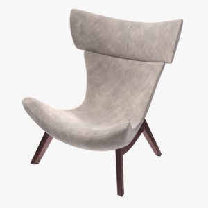 3D boconcept imola chair model
