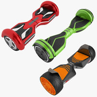 3D model gyroscooter 01
