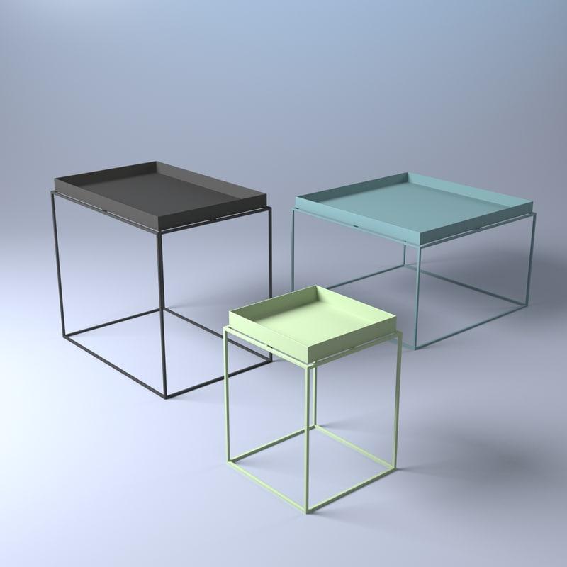 ... Hay Tray Table 3D Model ...