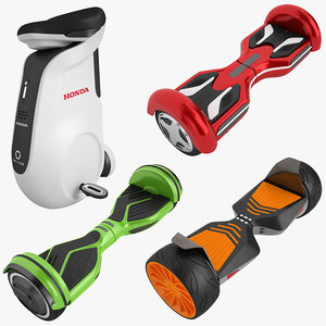3D personal mobility device 01 model