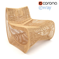 Modern Rope Indooroutdoor Lounge Chair