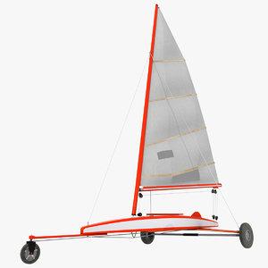 sand yacht model