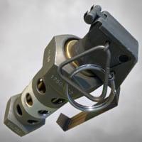 3D model grenade pbr