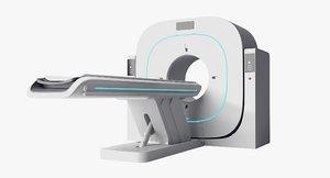 computed scanner medical 3D model
