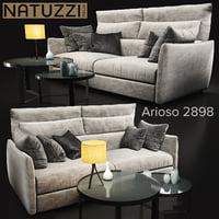 3D sofa natuzzi arioso2898