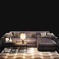 sofa natuzzi attesa2827 model
