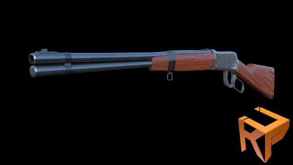 3D winchester 1894 model