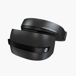 3D hp windows mixed reality model