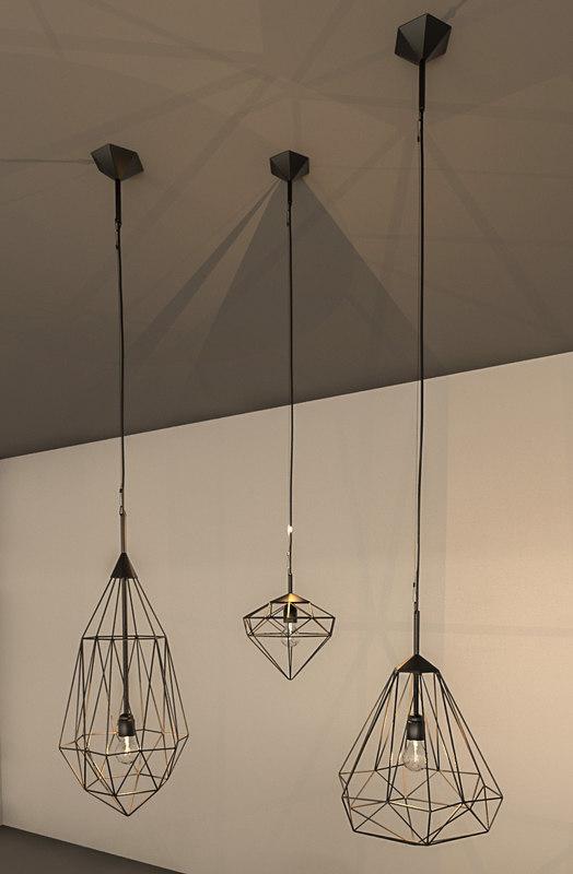 3D revit lighting model