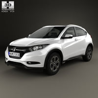 3D model honda hr-v ex-l